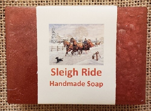 Handmade Soap - Sleigh Ride