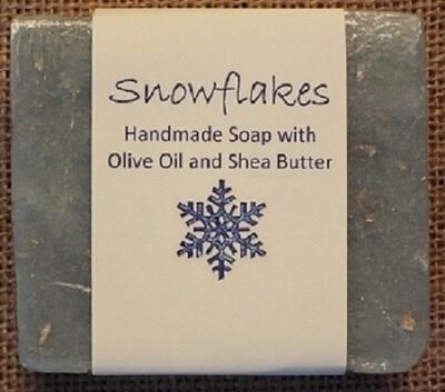 Handmade Soap - Snowflakes
