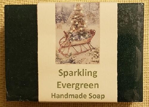 Handmade Soap - Sparkling Evergreen