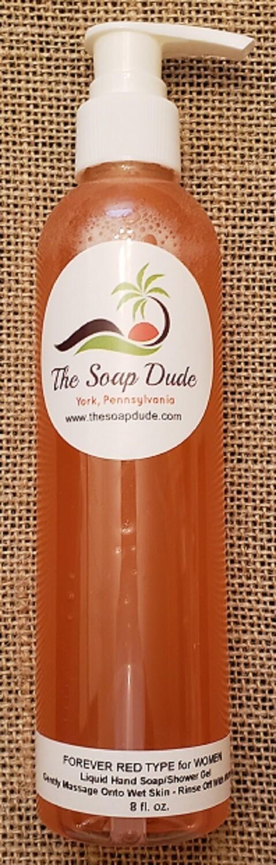 Liquid Soap - Forever Red for Women Type