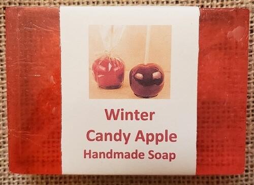 Handmade Soap - Winter Candy Apple