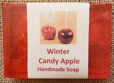 Handmade Soap - Winter Candy Apple