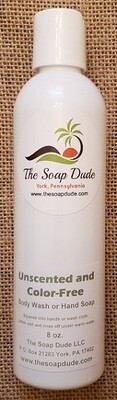Liquid Soap - Unscented and Color Free