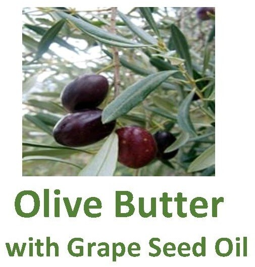 Olive Butter with Grape Seed Oil