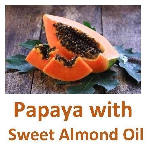 Papaya with Sweet Almond Oil