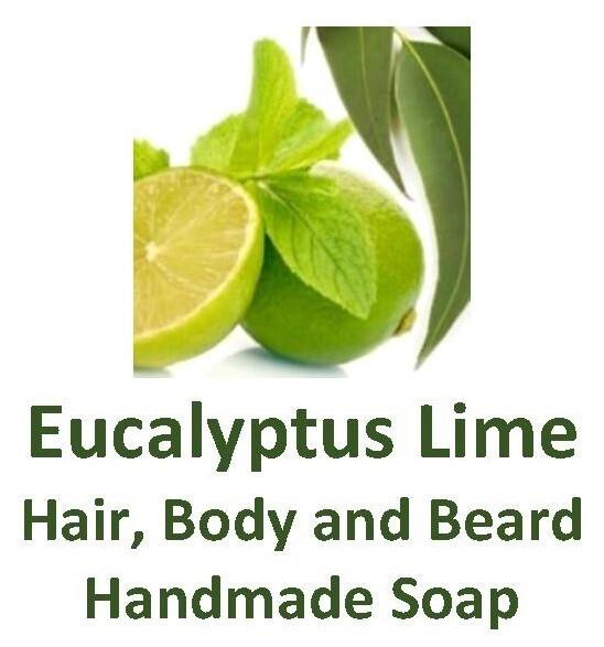Eucalyptus Lime - Hair, Body and Beard