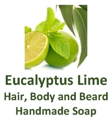 Eucalyptus Lime - Hair, Body and Beard