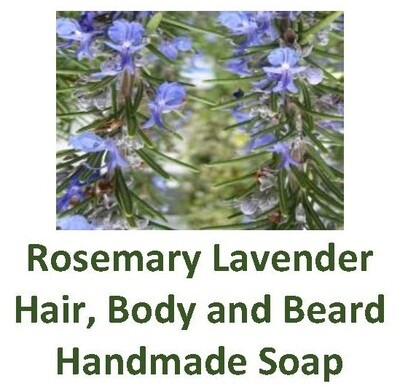 Rosemary Lavender Hair, Body and Beard