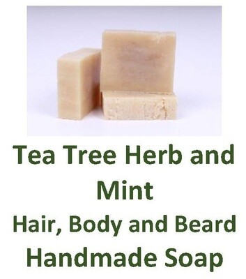Tea Tree Herb and Mint Hair, Body and Beard