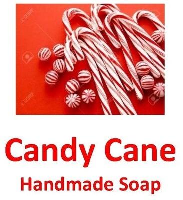 Handmade Soap - Candy Cane