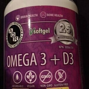 Omega 3 with Vitamin D3 - 180 Soft Gels