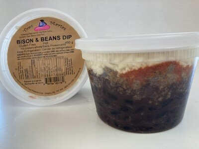 Bison & Beans Dip - Extra Hot 450 g