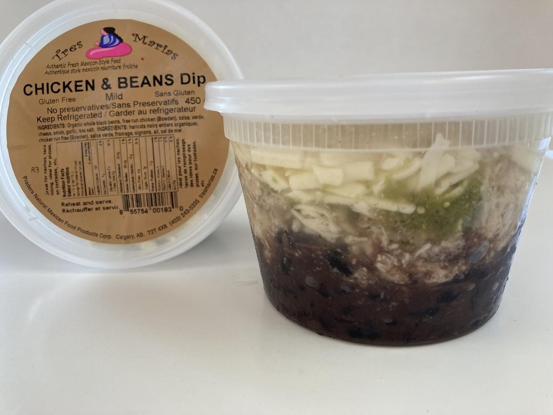 Chicken & Beans Dip - Medium Spicy  450 g