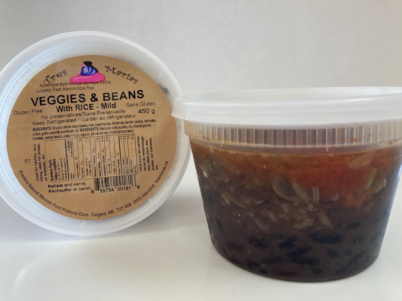 Veggies & Beans Dip - Mild 450 g