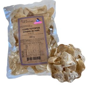 Corn Totopos 400 g