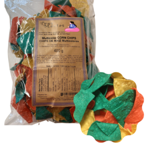 Multicolor Corn Chips 400 g