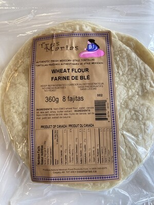 Wheat Flour Tortillas 8