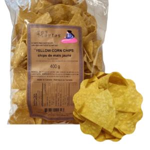 Yellow Corn Chips 400 g