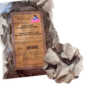 Chips Organic Blue Corn 400 g