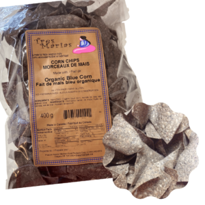 Chips Organic Blue Corn 400 g