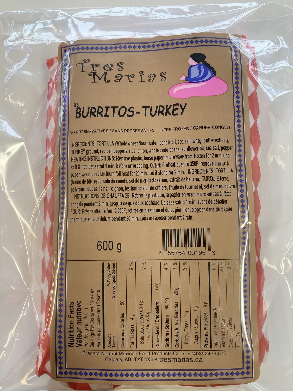 Burritos Turkey - Mild 2 pcs 600 g