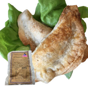 Empanadas Pork Medium Spicy 2pcs w salsa 200 g