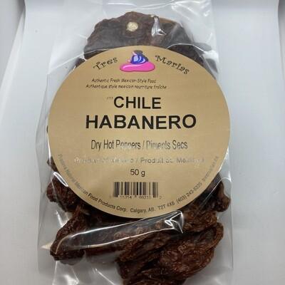 Chile Habanero Extra Hot 50 g