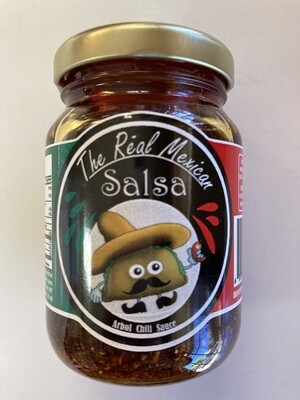 The Real Mexican Arbol Chili Sauce 125 g