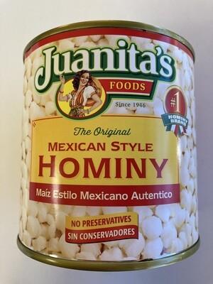 Juanita's Hominy 25 oz