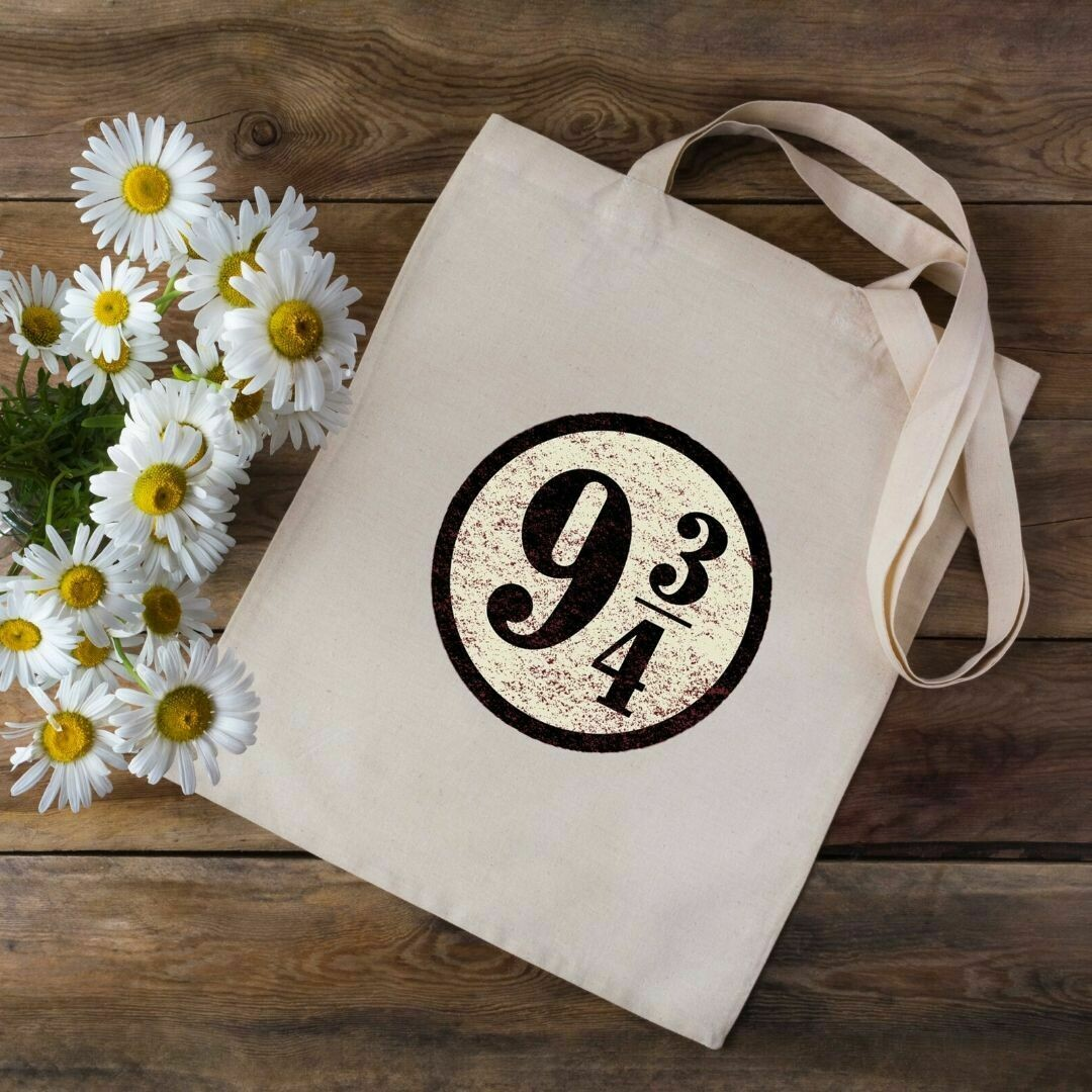 9 3/4 Harry Potter Tote Bag