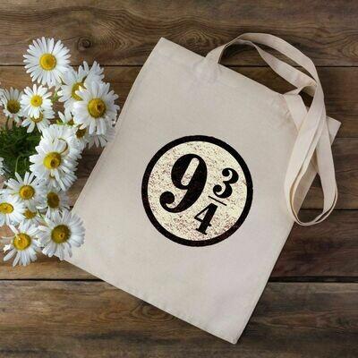 9 3/4 Harry Potter Tote Bag
