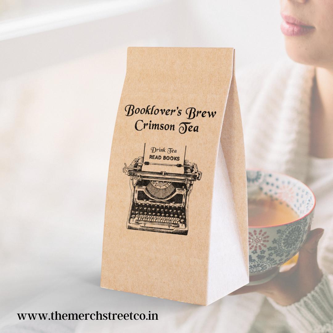 Crimson Booklover's Brew Tea