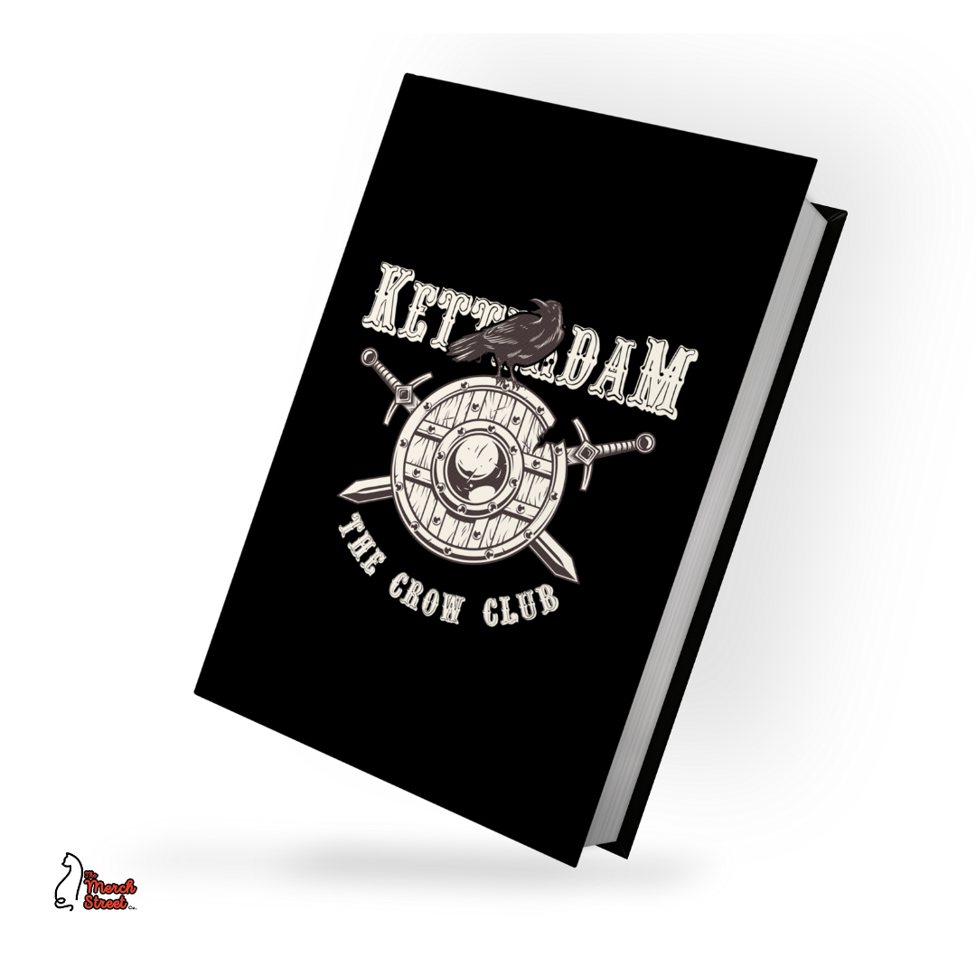 Crowclub Hardbound Diary Grishaverse fame