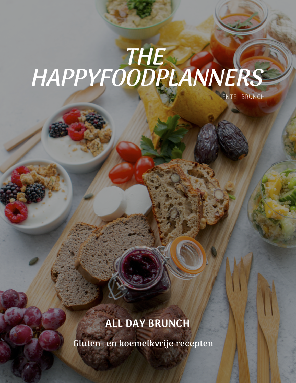 Gluten- en koemelkvrij all day brunch e-book