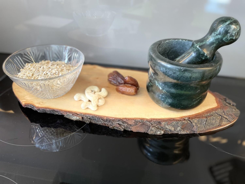 Dattel-Cashew-Guetzli mit Rind