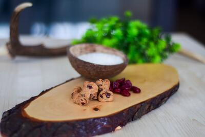 Kokos-Cranberry-Guetzli (Glutenfrei)