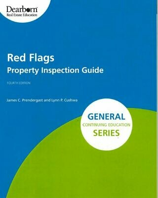 Red Flags: Property Inspection Guide elective #3618, Nov 12, 1pm, via Zoom