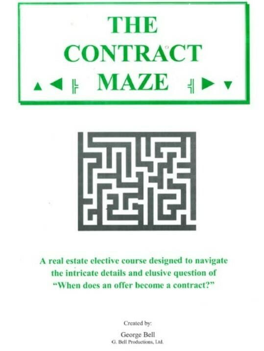 The Contract Maze elective #3633, June 7, 9a-1p, via Zoom