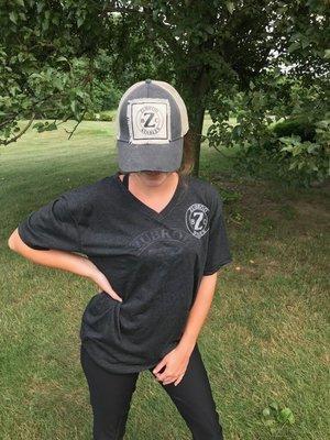 V Neck Black Shirt