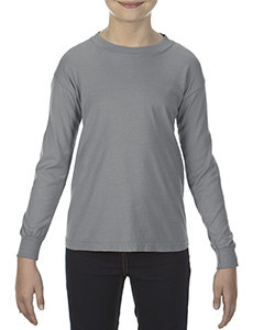 Youth Grey Comfort Color LS