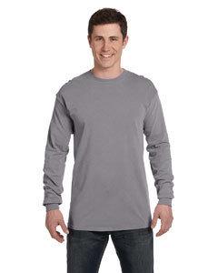 Adult Grey Comfort Color LS
