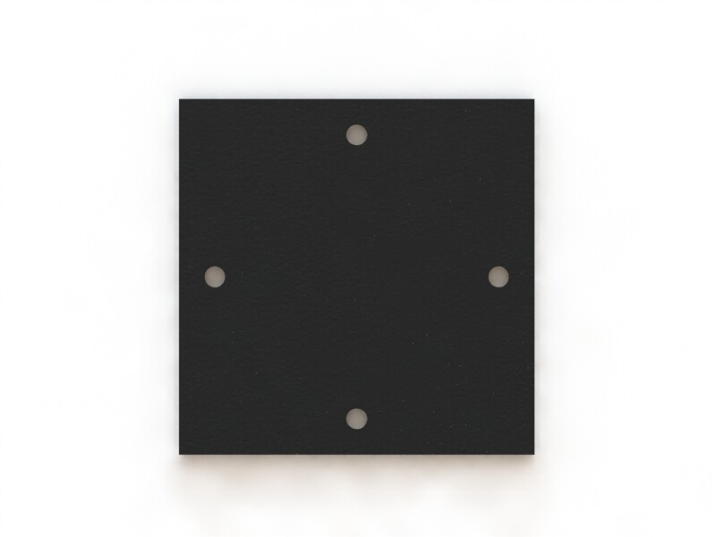 Пластина оголовка 200х200 S=4 мм