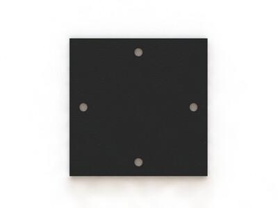Пластина оголовка 200х200 S=5 мм