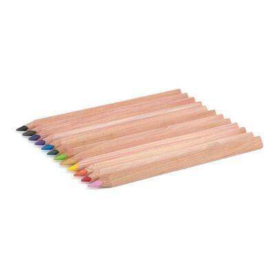 Yorik Coloured Pencils Triangular - ass. 12 colours