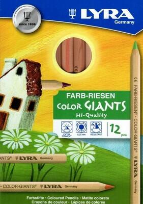 Lyra Color Giants Unl.- ass. 12 colours cardb. box