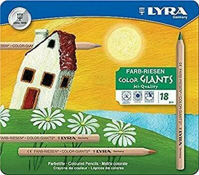 Lyra Color Giants Unl. - 18 colours - tin case