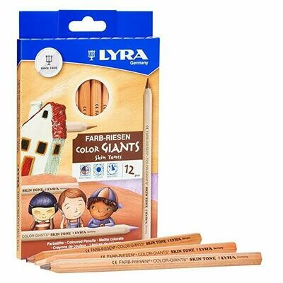 Lyra Color Giants Skin Tones - ass. 12 colors