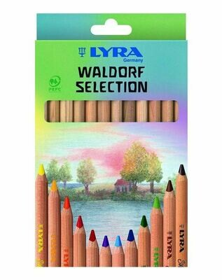 Lyra Superferby Unlacquered - Waldorf ass. 12 col.