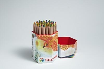 Stockmar 4 - Coloured Pencil - pcs