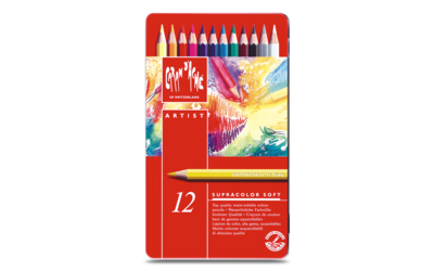Caran d'Ache Supracolor - 12 Pencils in Tin Case